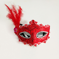 Halloween Masquerade Lace Half Face Mask Party Mask