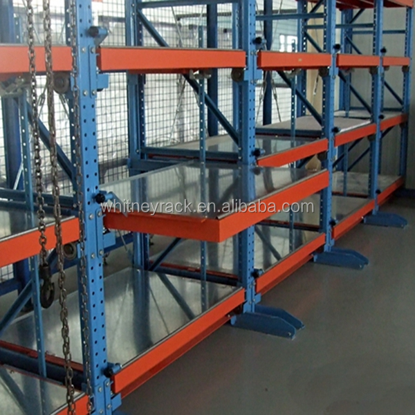 Nanjing Whitney 4 layer mold storage rack and injection mould storage rack system