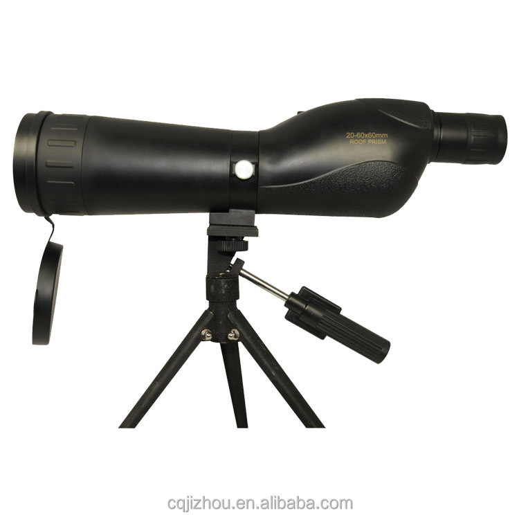 wholesale alibaba Long Distance HD monocular zoom 20-60X60 spotting scope