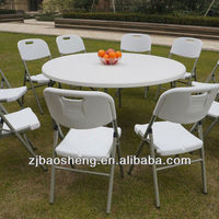 5 FT round foldable table for camping