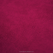 HUSKY in stock home furnishing sofa polyester chenille fabric textile, dark red heat shrink dacron fabric for sofa