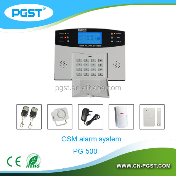 Wireless GSM Household Alarm system with Full voice promot operation