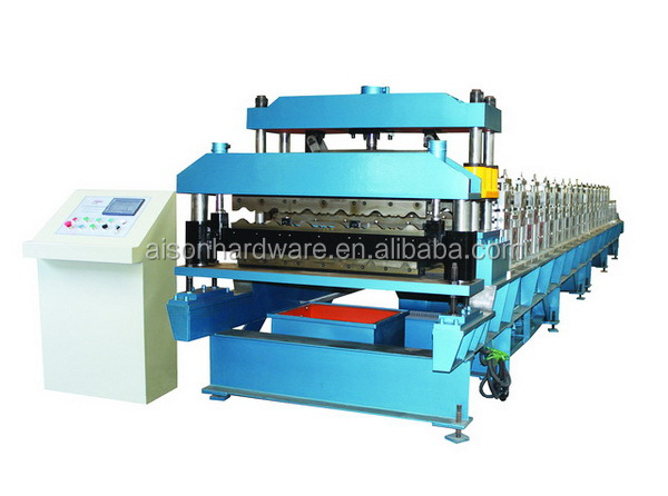 Quality primacy durable flat or glazed roof making machine