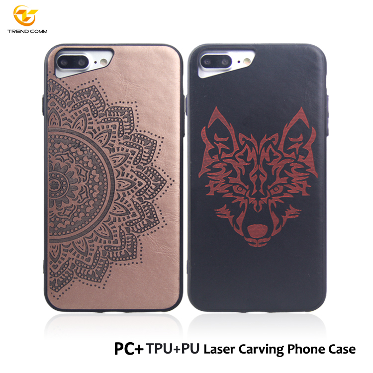Sublimation Laser Engraving Custom Cell Phone Case For IPhone 7 8 Plus