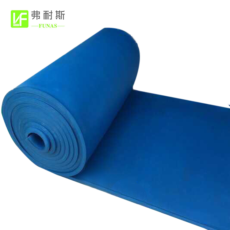 China Factory Soundproofing Colorful Foam Rubber Foam Panel Rubber Insulation