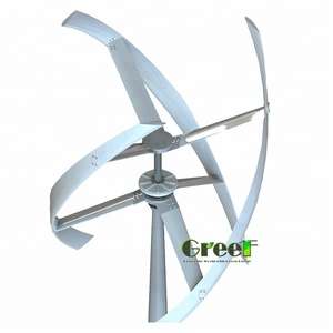 5KW Helical Design Vertical Axis Wind Turbines/ Home Wind Energy Generator