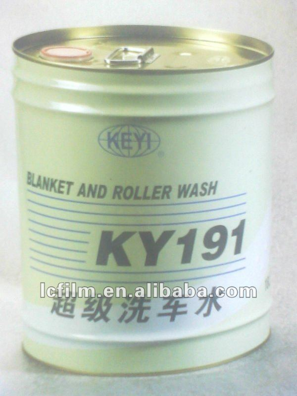 KY191 is Printing Cleaner, Blanket and Roller Wash