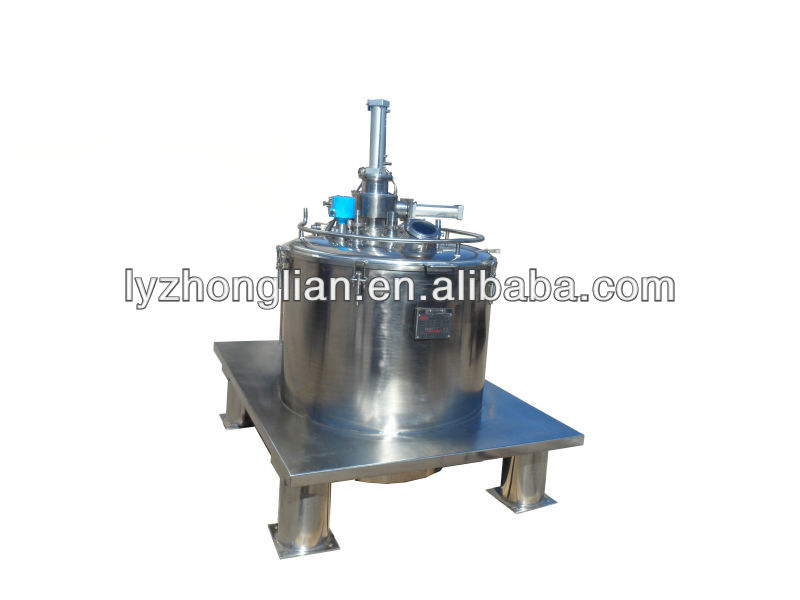 PGZ800 Series Flat Automatic Discharge Scraper Centrifuge or Separator Intermittent operation