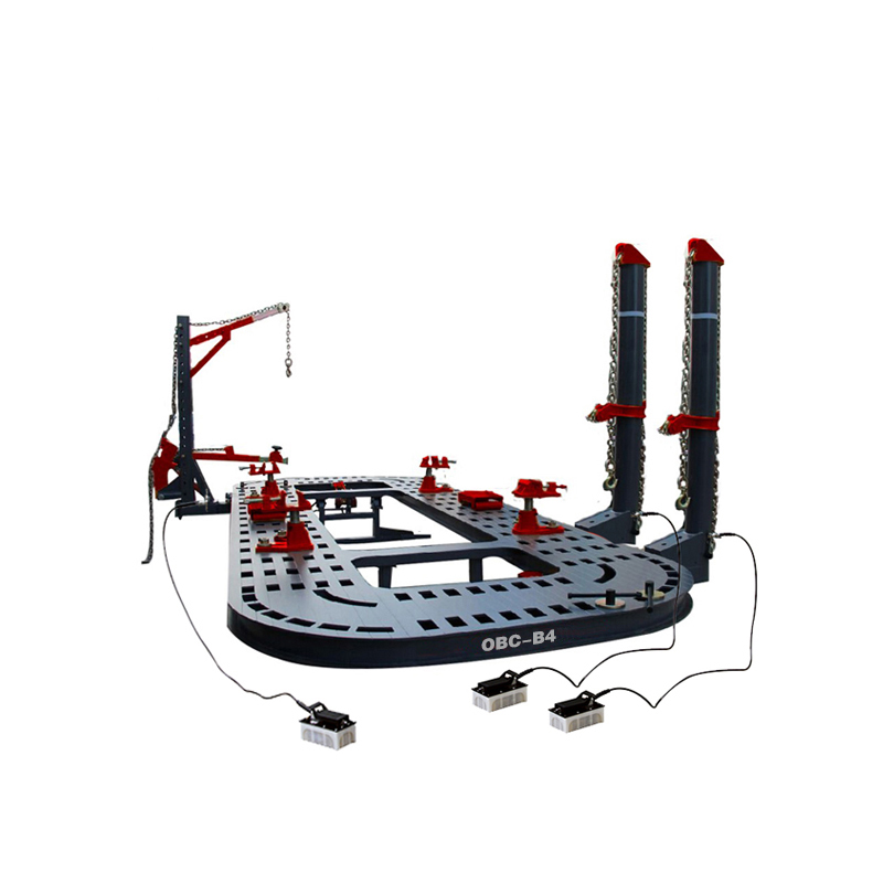 OBC-B4 Collision car chassis alignment bench/รถกรอบเครื่อง