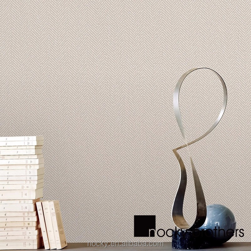 The plain pure color non woven wall paper of Contemporary and contracted wallpaper for Living room bedroom office