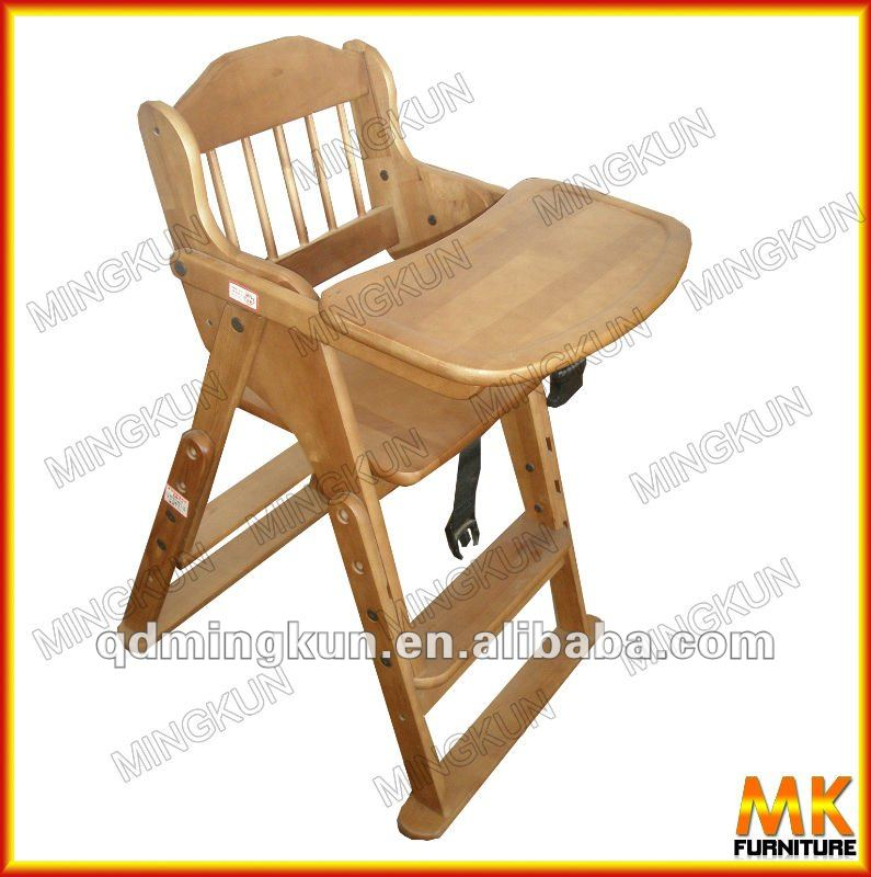 Beb de madera silla silla de comedor sillitas para bebes for Ver modelos de sillas de madera