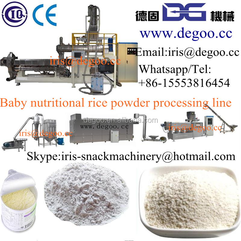 Infant Rice Powder/baby Milk Powder Production Line With Ce