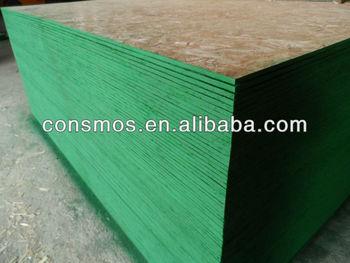 Osb-3,Osb With Green Waterproof Paint,Osb-for Construction Use - Buy  Waterproof Osb Board,Osb 3 For Construction,Waterproof Osb 22mm Product on