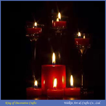 Wholesale Wall Art With Led Lights Canvas Print Lighted Candle ...