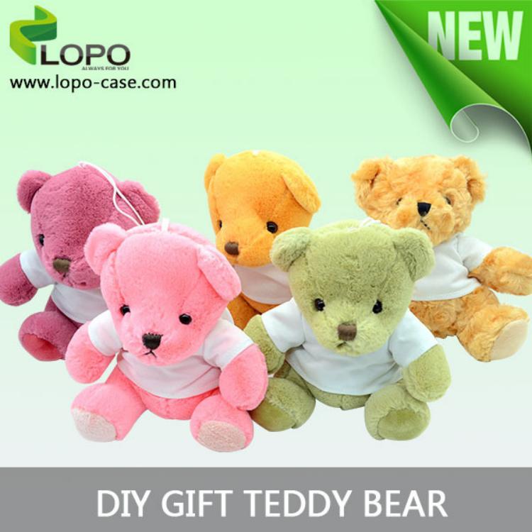 Personalisierte sublimation diy nettes geschenk teddyb r - Personalisiertes kuscheltier ...