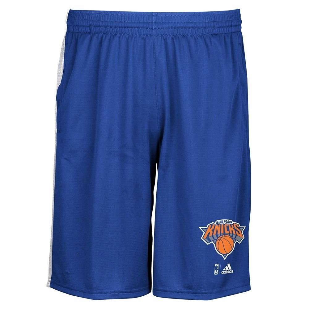 Get Quotations · NEW YORK KNICKS 2015-16 NBA TEAM LOGO TIP-OFF CLIMALITE  PERFORMANCE SHORTS MEN S 121eb7a6b0