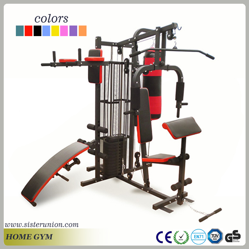 Hot sale home multi functional gym fitness machine with a sandbags