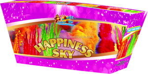 Wonderful Happiness Sky Smoke Daytime Fireworks 1.2 inch 36 shots