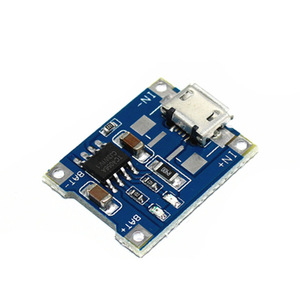 Micro USB 5V 1A 18650 TP4056 Lithium Battery Charger Module Charging Board With Automatic Protection