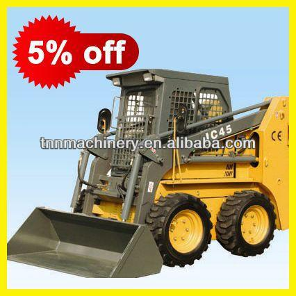 One year warranty good quality attachment of jc series skid steer loader Middle east TSL45
