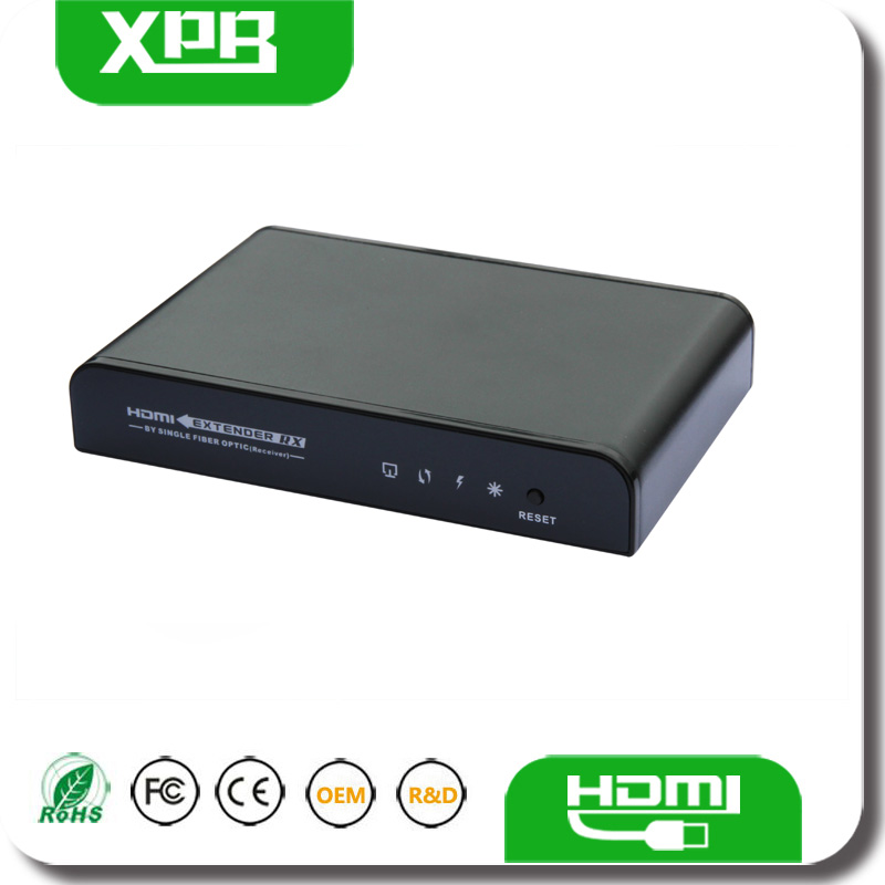 New Design HDMI Extender Repeater By Single Fiber Optic