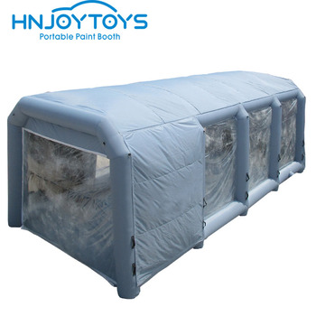 Customized cheaper truck painting mobile portable inflatable spray booth for sale
