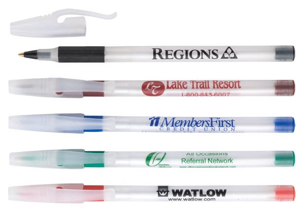 Promotional plastic ball pen , promotional ball pen for office and school