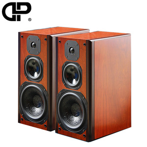 Image of bookshelf speakers for home theatre system Hifi speaker audio system hifi speaker wooden 838
