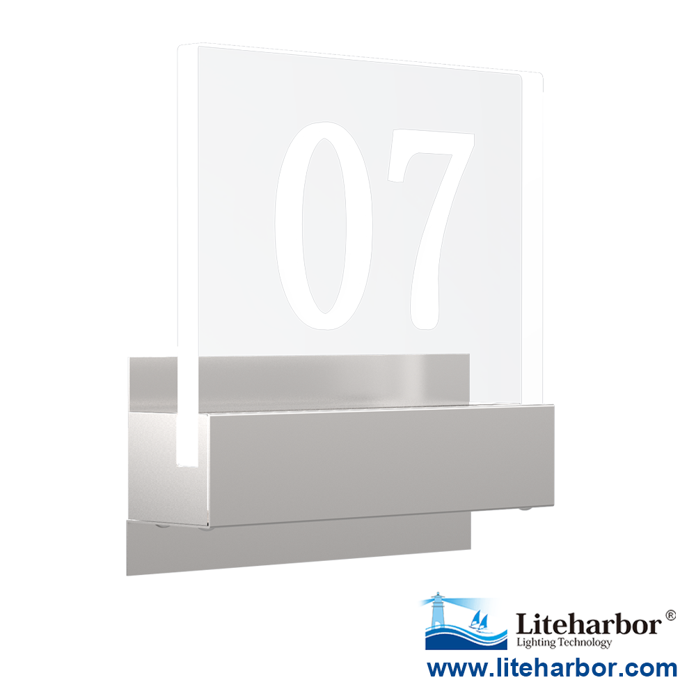 Liteharbor 180LM 2W LED House Number Light