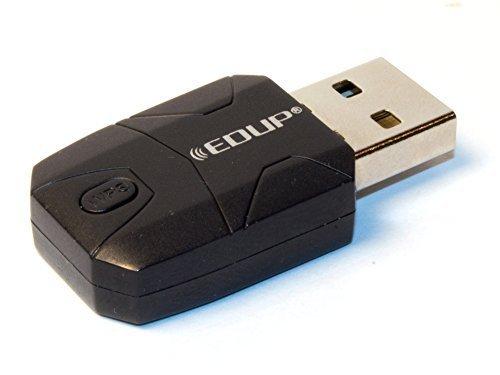 Wifi Adapter, EDUP, for Raspberry Pi USB 300 MBps Mini USB Wifi Wireless Adapter Dongle 802.11n RTL8192 (EP-N1571) (1)