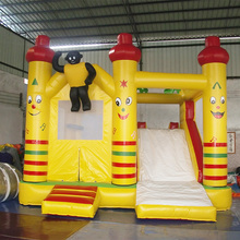 Guangzhou baiyun customize air inflatable bouncer slide, kids bounce house