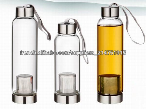 2014 nouveau bouchon vis en verre de gros bouteilles d 39 eau avec filtre bouteille id de produit. Black Bedroom Furniture Sets. Home Design Ideas