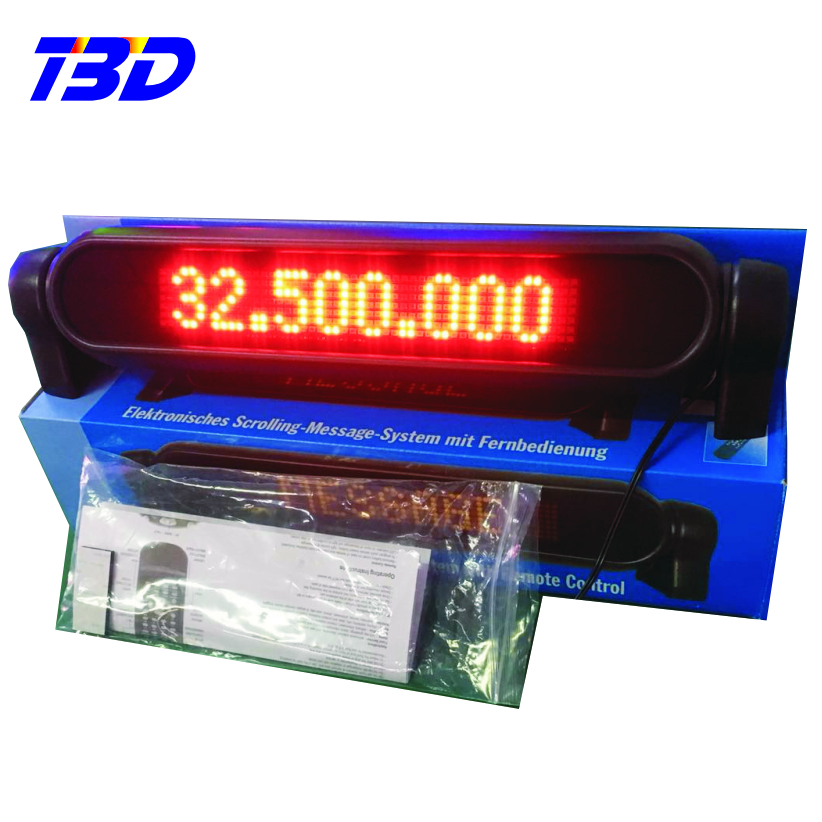 Running scrolling led moving message screen display