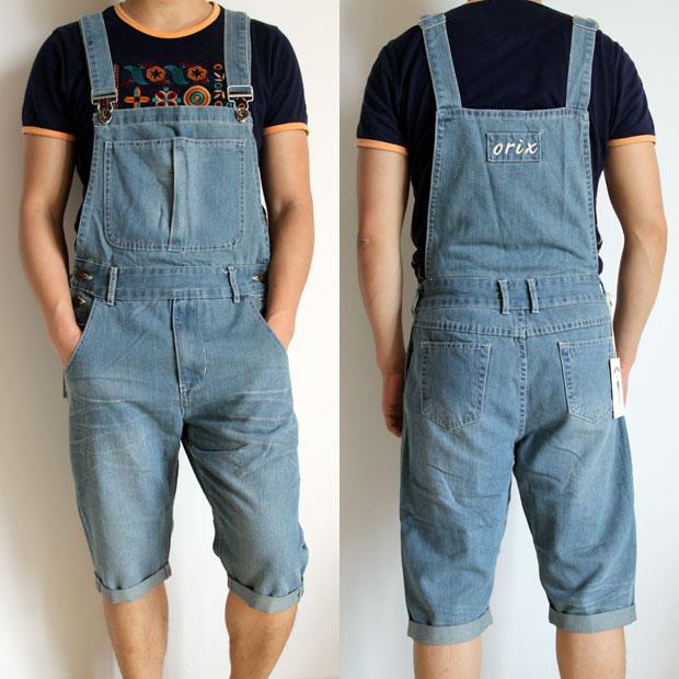 Jeans Bib Overalls Man Foto 86