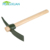 China suppliers Garden tools custom size round wooden mattock handle