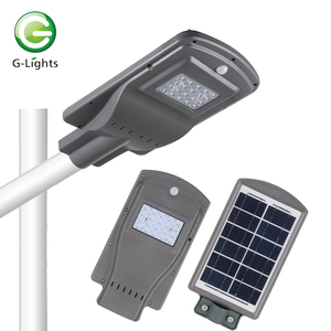 High quality ip65 waterproof outdoor all in one 10 15 20 25 30 40 watt solar led street light