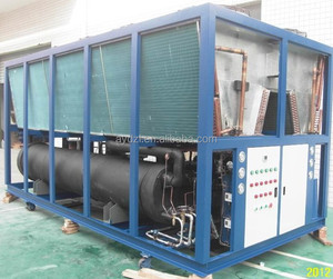 OEM ice rink chiller/water cooling chiller system made in China