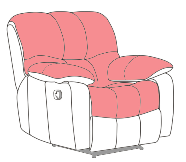 Hot Sale Lazy Boy Recliner Sofa Parts Cheap Price For Sale