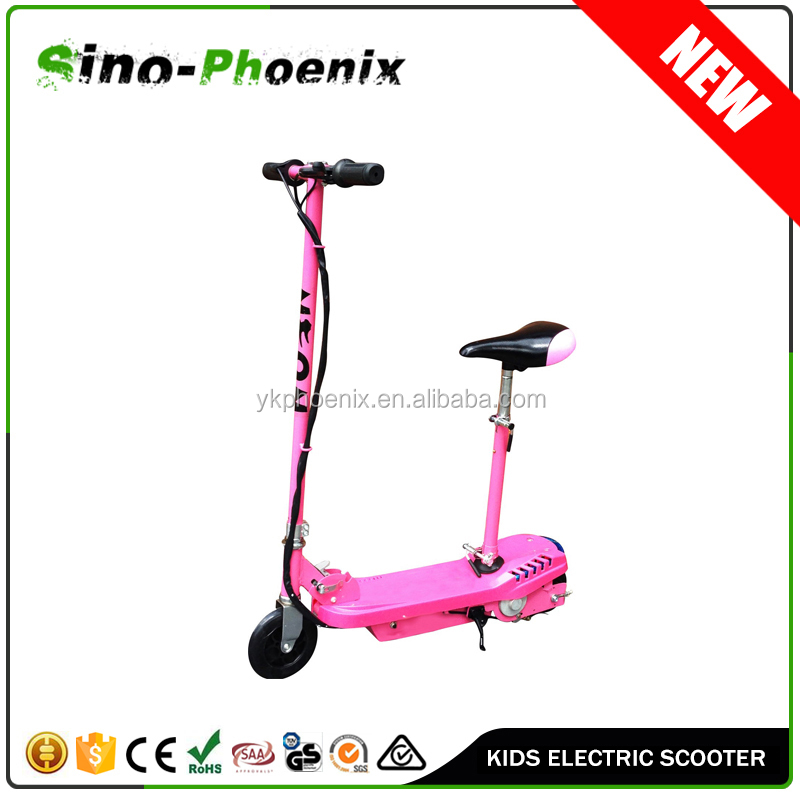 Super 120W Kids electric scooter for sale in Pink (PN-ES8015S )