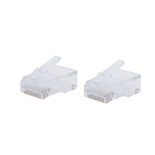Wholesale Cap Rg45 Pass Through 6 Pin Amp Rj45 Connector Cat6