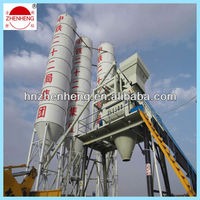Affordable HZS75 Soil cement concrete mixing plant equipment from direct supplier in China, Zhengzhou