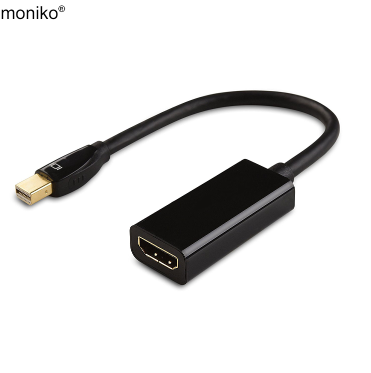 moniko best selling display hdm i 4K adapter displayport hdm i cable mini DP to HDM I adapter