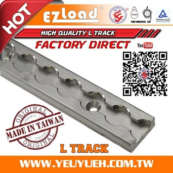 Ez Load Aluminum L Track Tie Down Rail System For Stud