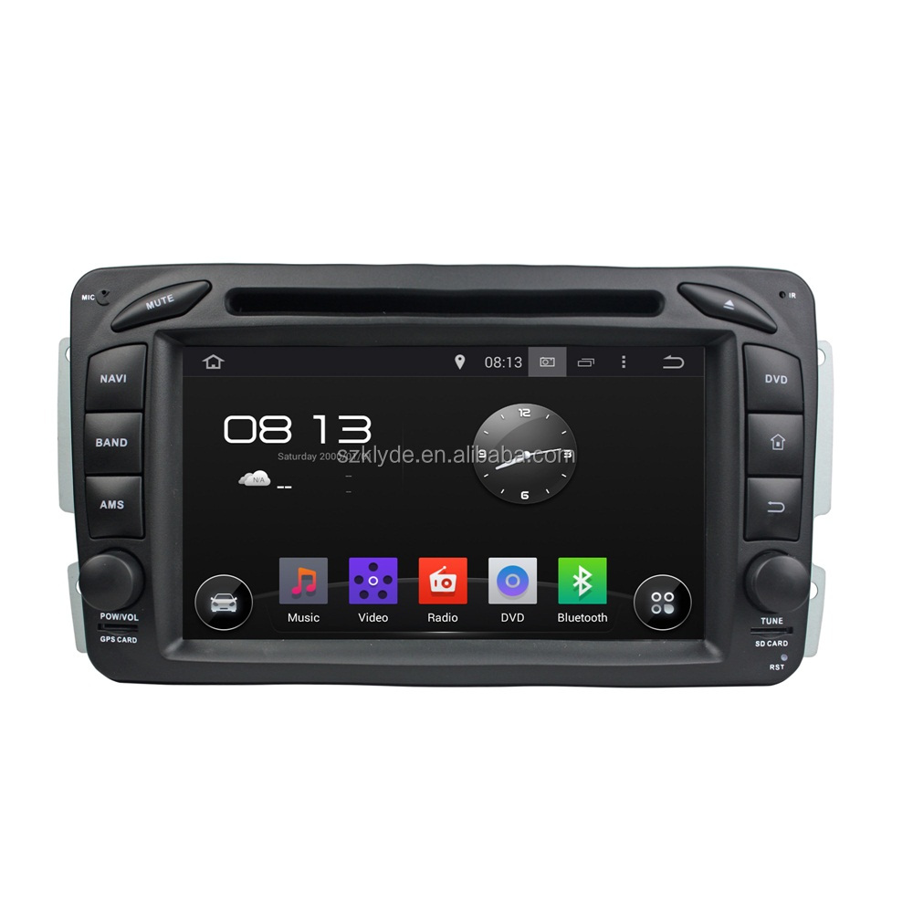 2015 new special quad core Android4.4.4 touch screen mirror link car dvd player for ML W163/CLK W209/C-Class W203