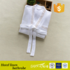 Custom High Quality Hotel 100% Cotton Sleepwear Waffle Bathrobe