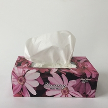 Coloured Box Facial Tissue