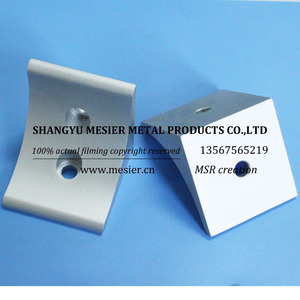 2 hole cnc connector 60h-b industrial fasteners 60 series High quality cnc machining aluminum t-slot bracket