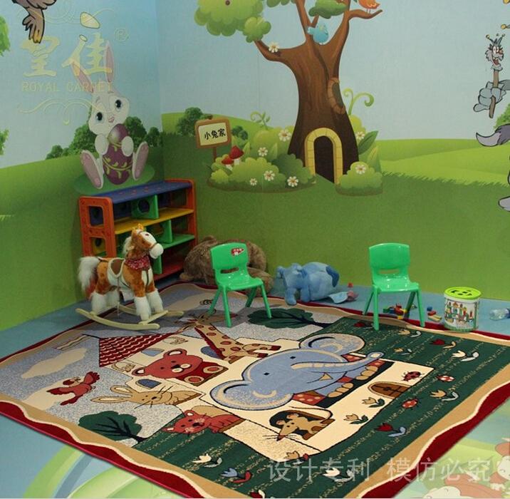De lujo Caro máquina alfombras persas por 80% lana 20% Acrílico