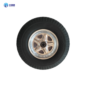 High quality barrow hand truck wheel PU foam wheel 400-8 Used for transportation