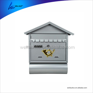 New design stainless steel newspaper box postal box mail box